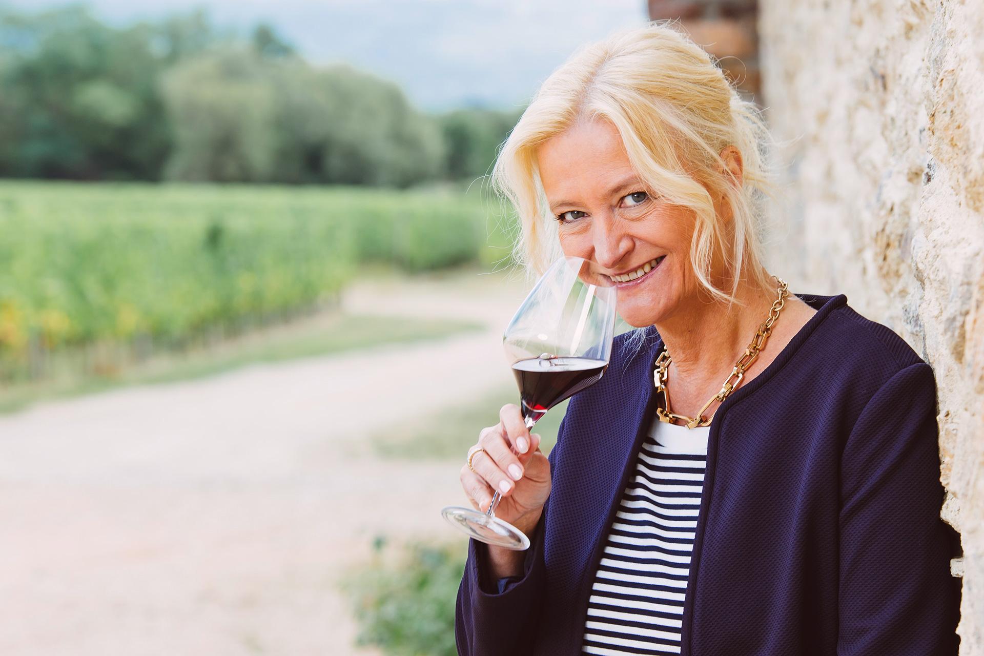 Die Weinversteherin